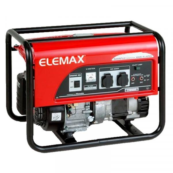 Бензиновий генератор Elemax SH 7600 EX-S